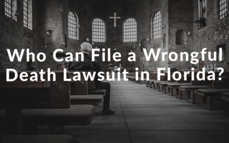 Who can File a wrongful death lawsuit in florida